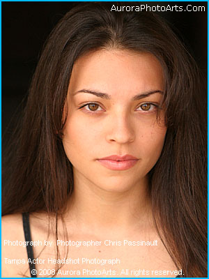 Tampa Headshot photograph of Tampa actor Jinelsa Rosado